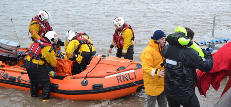 Flint RNLI: Lifeboat volunteers share stories of saving lives