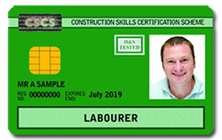 CITB CSCS Labourers Card North Wales