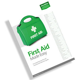 Free First Aid Manual for all delegates attending the First Aid at Work 3 day course