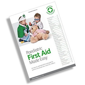 Free Paediatric First Aid Manual for all delegates